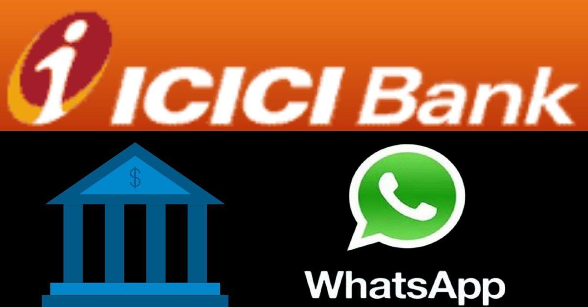 icici bank whatsapp banking